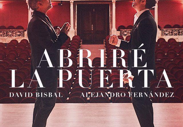 David Bisbal y Alejandro Fernández presentan su nueva canción