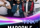 Maroon5 Confirmado para #Viña2020