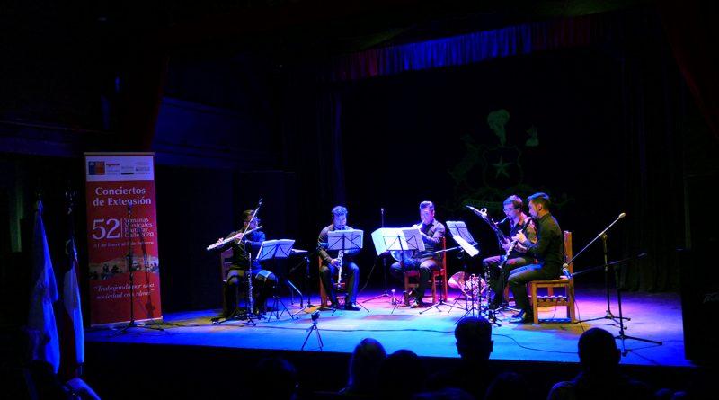Quinteto de Vientos USACH debutó en el concierto en Bariloche