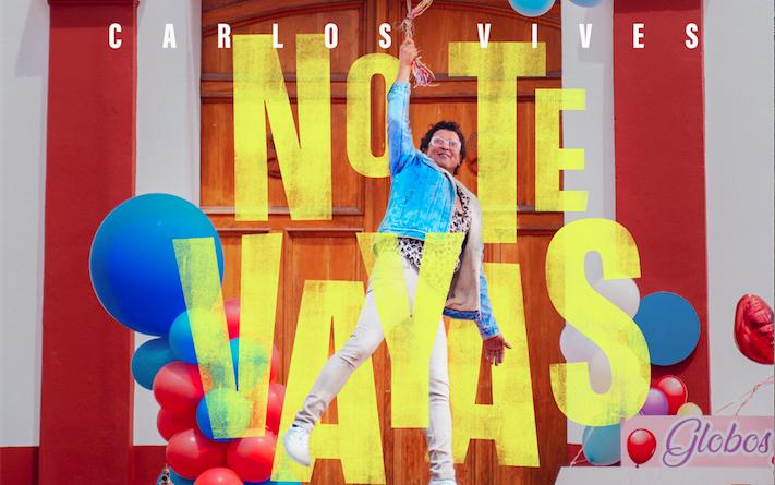 Carlos Vives presenta su nuevo sencillo «No te Vayas»