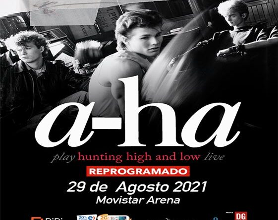 a-ha en Chile REPROGRAMADO