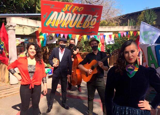 La Chinganera estrena la Cueca Ciudadana del Apruebo