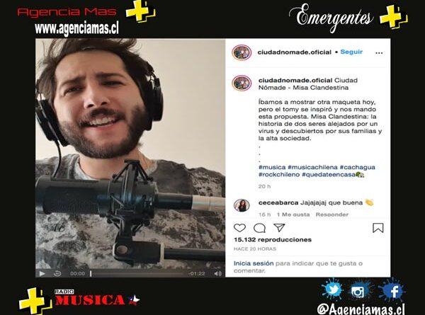 "Cuidad Nómade satiriza tema ""Misa Clandestina"""