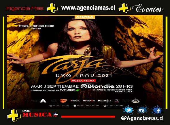 Atenea Presenta TARJA EN CHILE LA GIRA SUDAMERICANA