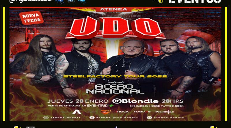 UDO REAGENDA SHOW EN CHILE