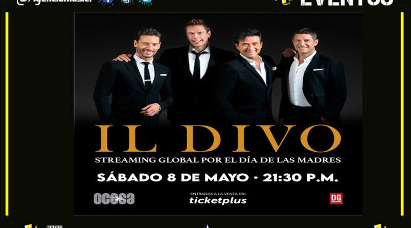 Il Divo ofrecerá un concierto vía streaming a nivel mundial