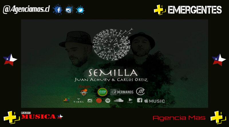 Juan Achury y Carlos Ortiz presentan Semilla