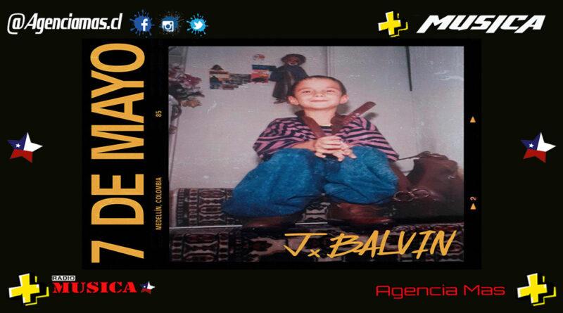 """J Balvin celebra su cumpleaños con el estreno del single """"7 de mayo"""""""