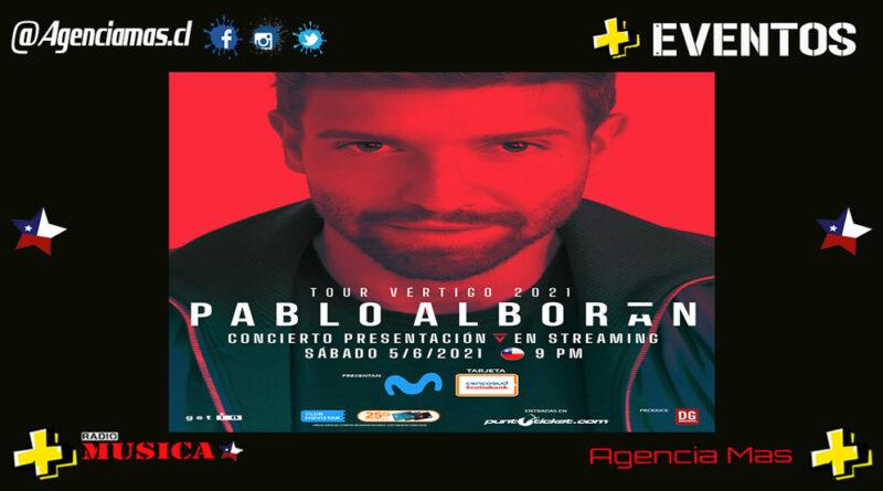 """Un Pablo Alborán expectante ya calienta motores  El """"Tour Vértigo 2021"""""""
