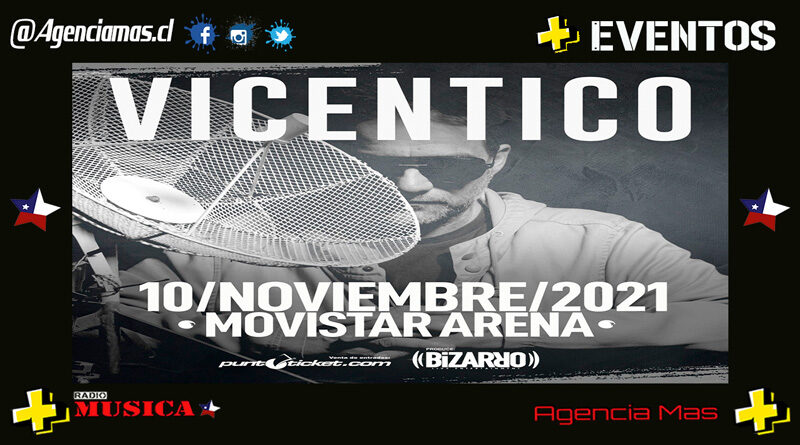 Vicentico regresa a Chile con recital en Movistar Arena