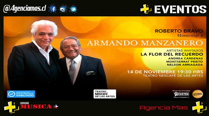 Roberto Bravo rendirá gran homenaje a Armando Manzanero