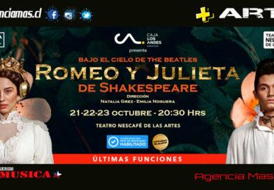 "Por éxito de taquilla, ""Romeo y Julieta"" suma tercera semana de funciones"